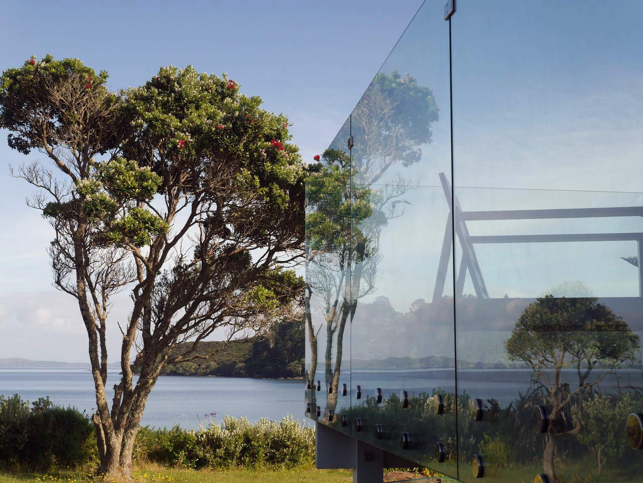 Front Mount Glass Balustrades